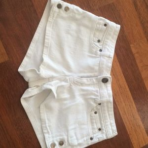 Shorts junior white